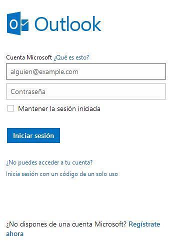 Hotmail Inicio