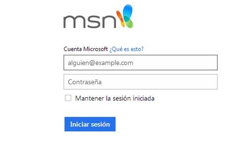 Hotmail México: Cómo iniciar sesión - Hotmail Correo
